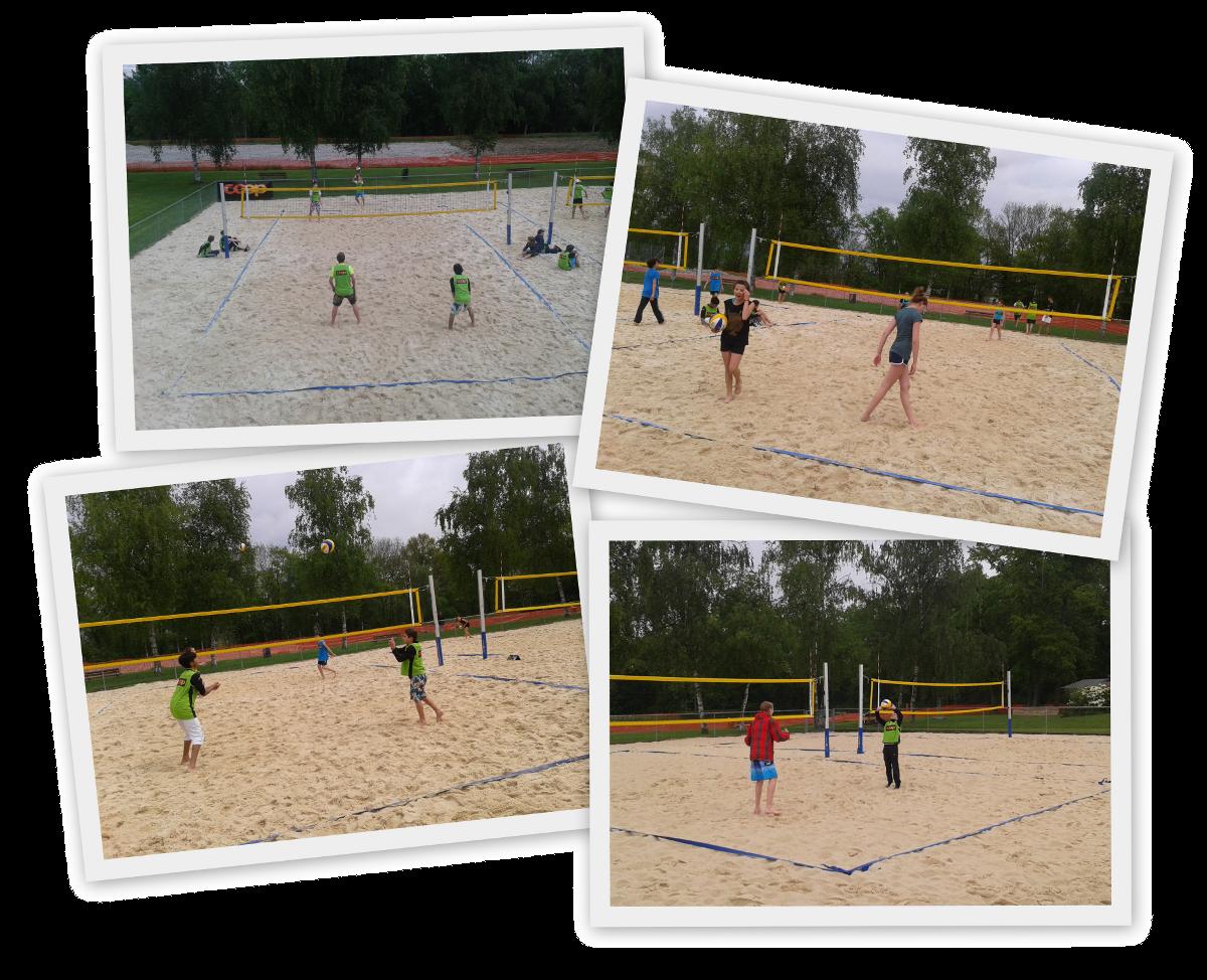 Les équipes de Beach Volley